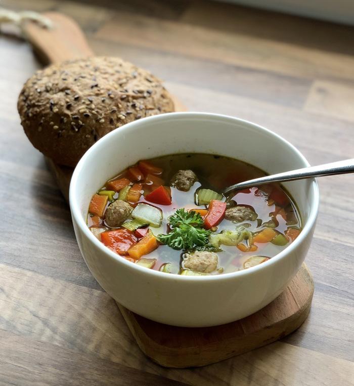 snelle groentesoep maken
